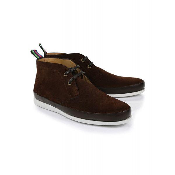 Paul Smith Men's Cleon Boots Dark Brown   Scarpe