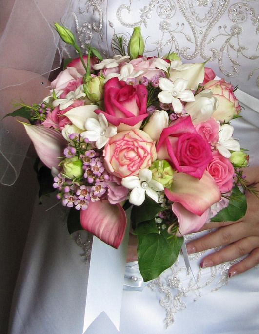 pink wedding bouquet images - Google Search