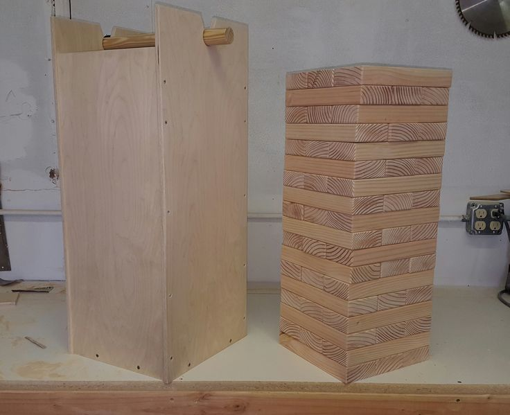 how to build a giant jenga set