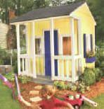 Georgia Pacific's Playhouse Plans -  Free, instant download, do-it-yourself backyard building plans from GP.com include detailed drawings, material lists, safety advice and how-to hints.