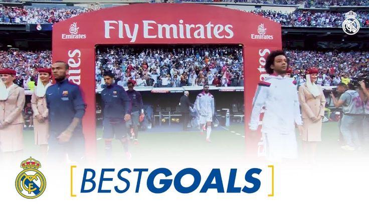 Ver Real Madrids best Clásico goals against Barcelona.