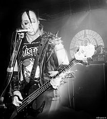 Jerry Only - bass for The Misfits - Jerry's Bass <3