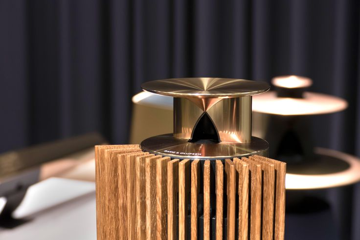 BeoLab 18 dressed in Brass at our press event in Struer, for the launch of the new Cool Modern Collection! Find out more on the warmth and elegance of Brass on bang-olufsen.com