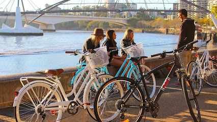 Bike obsession - great place to hire bikes in Brisbane. Right next to folio books