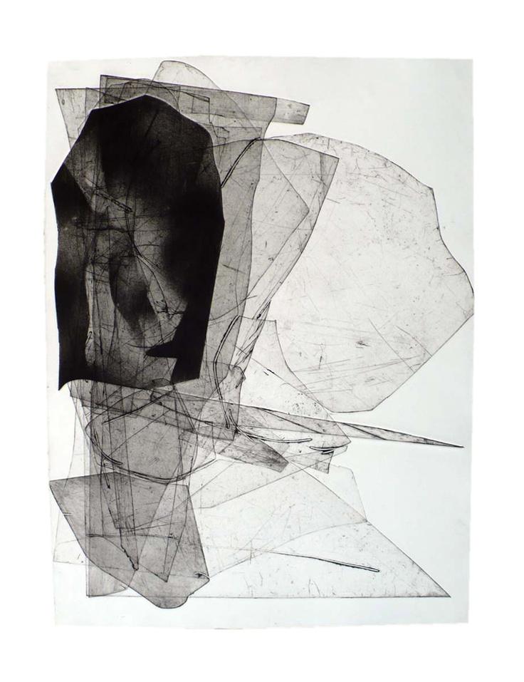 Eben Goff | 'Batholith' etching