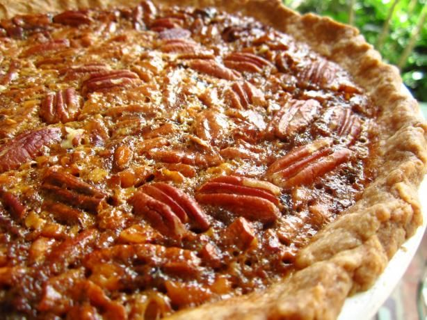 Southern Pecan Pie. Southern Georgia is loaded with pean tree orchards.