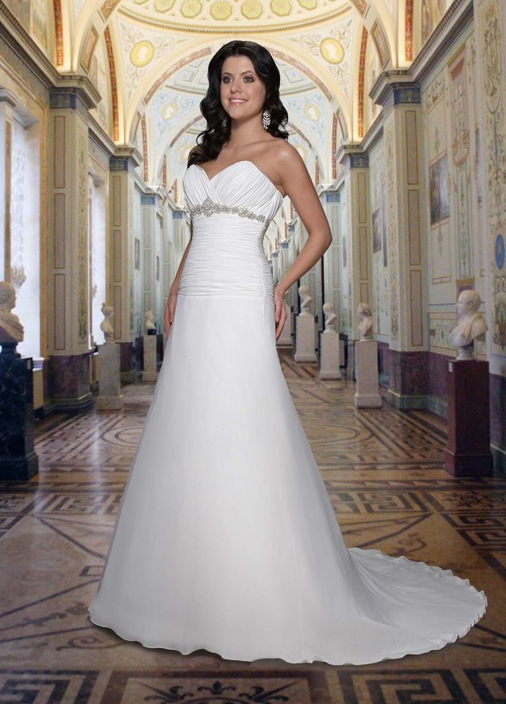 139 best A-line Wedding Dresses images on Pinterest | Wedding frocks ...