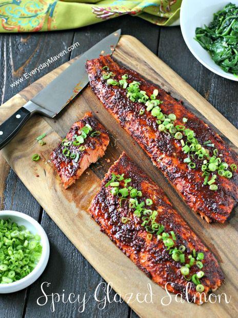 Spicy Glazed Salmon