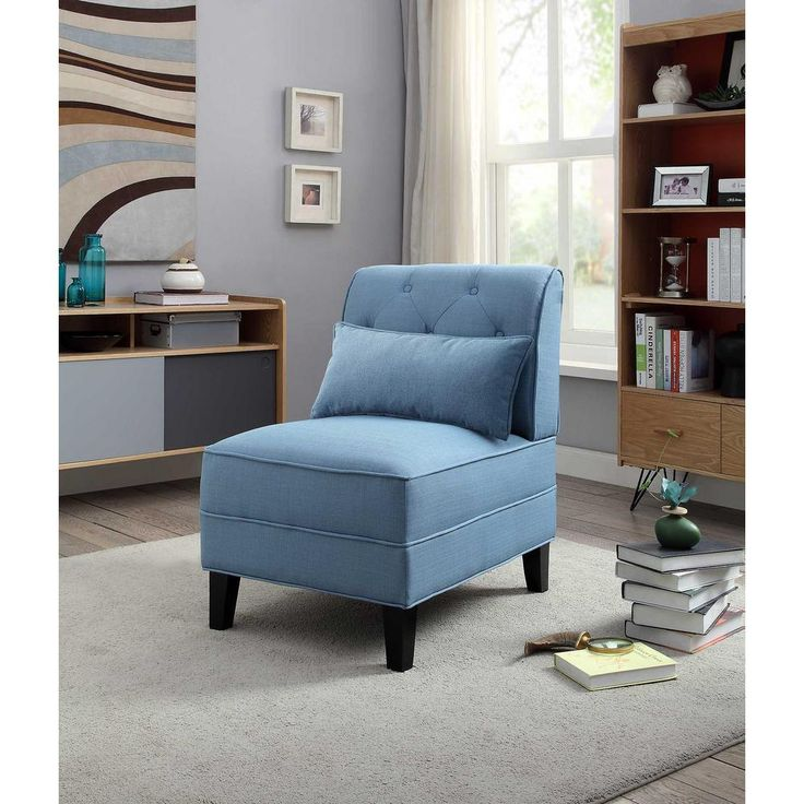 Best 25 blue accent chairs ideas only on pinterest teal - Blue accent chairs for living room ...