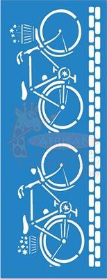 Stencil Bicicletas 17x42 - OPA