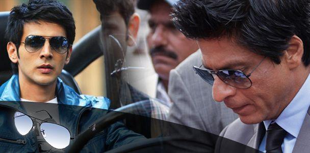 Pyaar Ka Pachnama actor, Kartik Tiwari sporting same Ray-Ban Sunglasses as Shahrukh Khan.