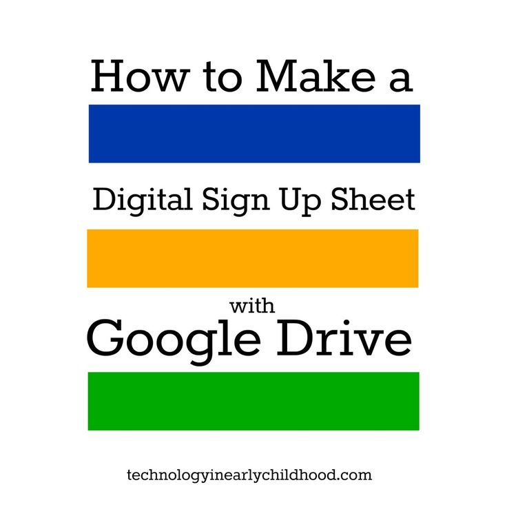 The 25+ best Google drive sign up ideas on Pinterest Sign in - how to create a signup sheet
