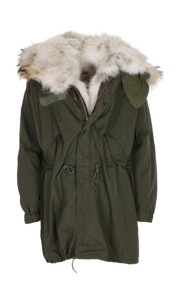 4adc1283 For The Few parka med natural ulve pels | Vintertøj i 2019 | Jakke, Pelse  og Tøj