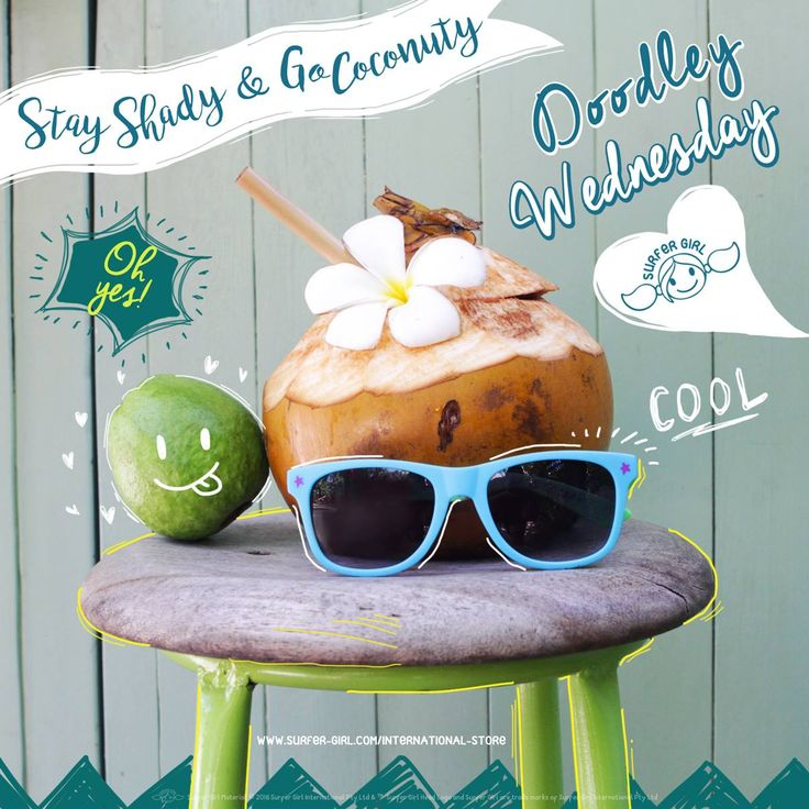 Nothing beats a hot and humid day like drinking a coconut under a shady tree ^^ Stay cool and calm under this cool shade and breeze through the day www.surfer-girl.com/international-store ^^ Love, Summer <3 #surfergirl #tropicalstyle
