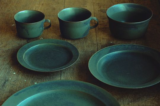 """Yumiko iihoshi porcelain - oxymoron. I like these...to me they are simple, true and solid like the earth. Something to use when you are eating """"real"""" food."""