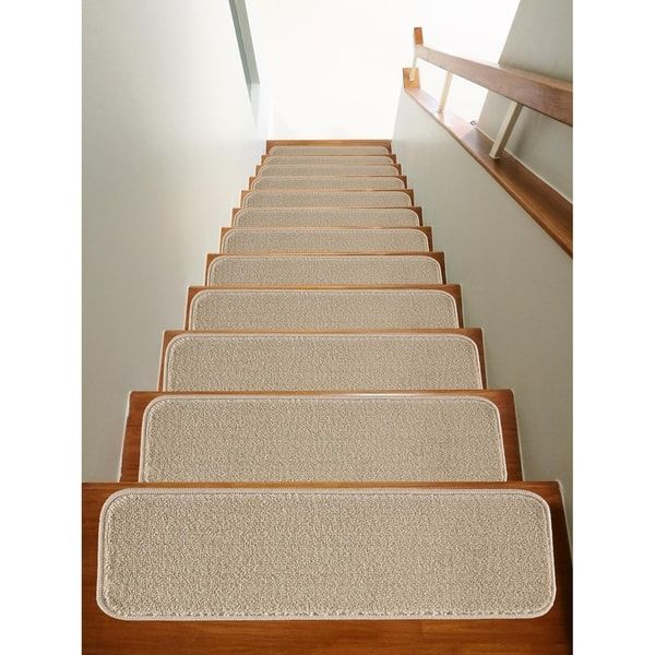Best Modarte Solo Collection Stair Treads Solid Color Set 640 x 480