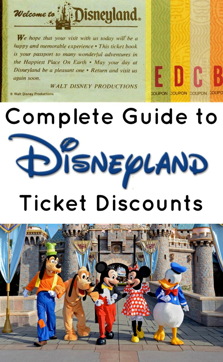 Looking for discounted Disneyland tickets. Where to find them.