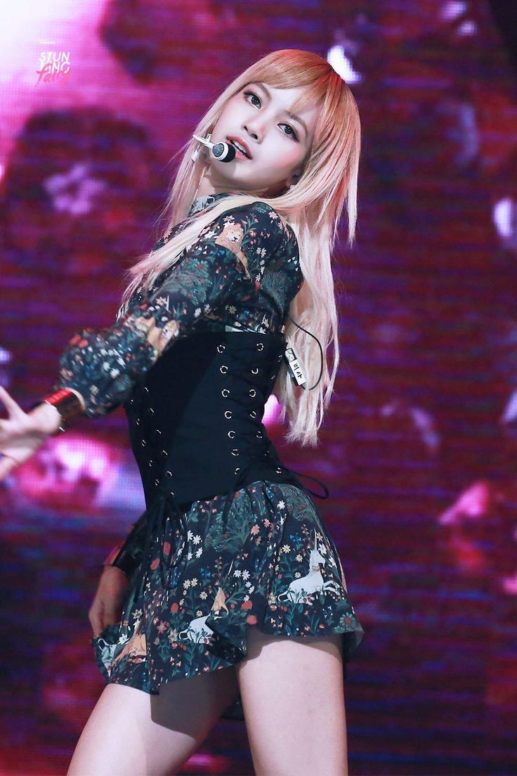 K-Pop idols are known for their sexy stage presence, but sometimes they take on a look that's out of this world.