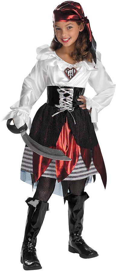 halloween costumes for girls pirate lass dressup set kids halloween costumes