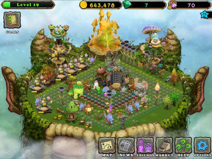 My plant island