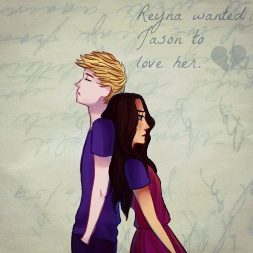 Everyone always talks about how terrible it must have been for Annabeth when Percy disspeared, which yeah, it sucks, but look at Reyna. Sure, she had Jason weren't a couple but she liked him a lot, and then he dissapeared, leaving her to run the camp by herself. And then he comes back with another girl. Oh and when Percy shows up, she falls for him, and finds out HE too, has a girlfriend.
