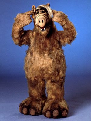 I´m an alien, from the planet Melmac. I have powers you can only dream of. I loved Alf....had and alf birthday party once. :)