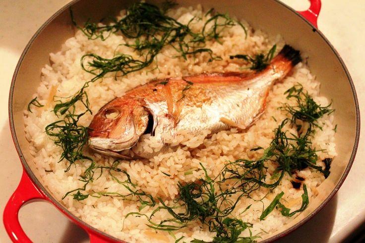 ル・クルーゼ(土鍋)で鯛めし by りょーーーこ [クックパッド] 簡単おいしいみんなのレシピが249万品