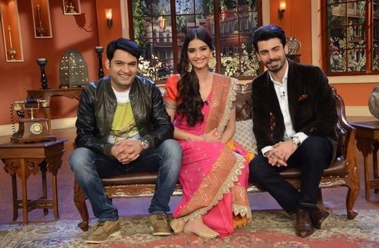 Watch Fawad and Sonam on Comedy Nights with Kapil Fawad Khan And Sonam Kapoor on Comedy Nights with Kapil – 26th July 2014. Sonam Kapoor – Actress and Superstar; and Fawad Khan – Actor, Singer, Model and Guitarist – the lead pair of the upcoming movie Khoobsurat