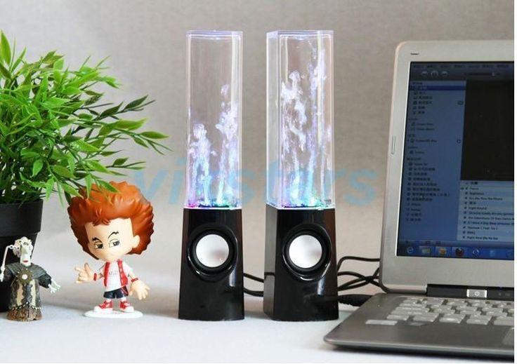 Genuine new USB Water Spray Mini Speaker Water Speaker Music Fountain USB Water Spray Speakers music fountain speaker