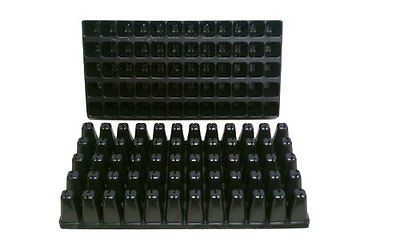 Seed Starting Pots and Trays 159452: 10 Plastic Seed Starting Trays - Each Tray Has 60 Cells ~ Cells Are 1 5 8 Sq... -> BUY IT NOW ONLY: $30.18 on eBay!