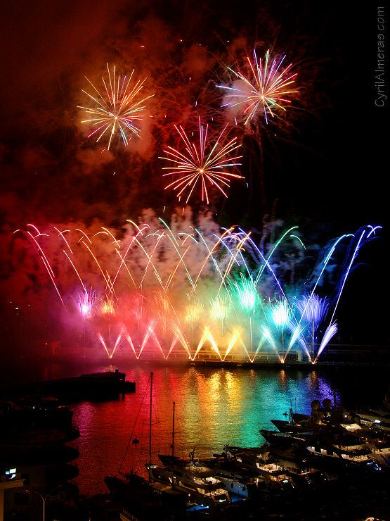 Photos de feux d'artifice, photographies de spectacles pyrotechniques