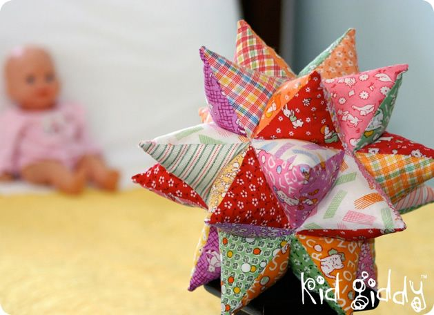 How-To: Quilted Modular Star tutorial This is gorgeous! Must find someone to make one for Isaac!