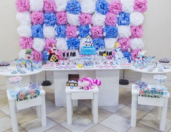 C mo decorar fiestas infantiles de alicia en el pa s de - Como decorar una fiesta de cumpleanos infantil ...