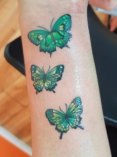 Small Butterfly's Tattoo Thumbnail