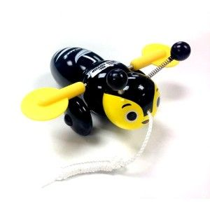 All Blacks Buzzy Bee Wooden Pull Along