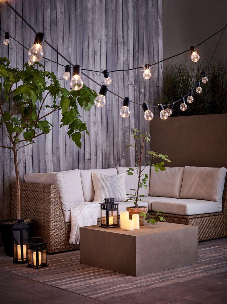 Moderne Terrassengestaltung | Lounge möbel, Ikea germany ...