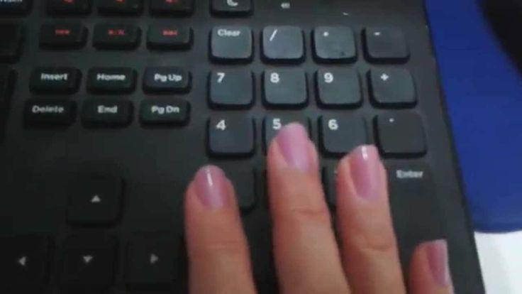 Digitação em teclado numérico aula 10