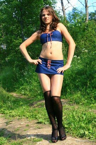 Nude Sandra Teen Model Pics