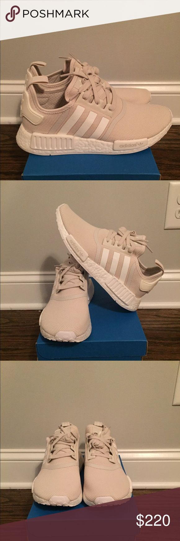 NIB Adidas NMD R1 Talc Cream Women Sz 8.5 9.5 This listing is for Brand New Adidas NMD R1 in Talc Cream colorway (S76007) in size 8.5 or 9.5 These are sold out everywhere. US Women Size 8.5 and 9.5 available SKU: S76007 100% Brand New, Unworn, and Authentic!!! Adidas Shoes Sneakers