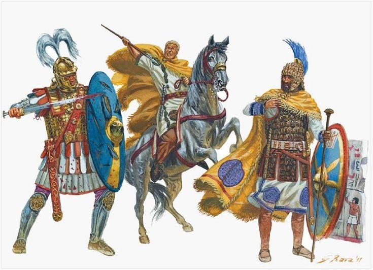 "Roman Centurions ""The anarchy of the 3rd Century AD"" - Giuseppe Rava"