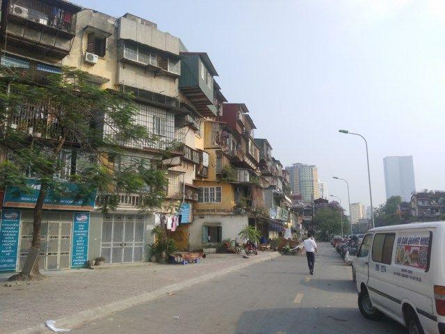 Tập thể Thành Công xuống cấp mức độ D - Khi nào mới di dời cư dân? | Kiến Việt net