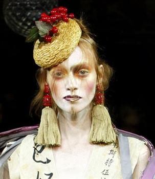 Hats for Vivienne Westwood Gold label Spring Summer 2012 - Prudence Millinery