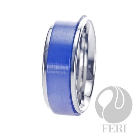 FERI Plangsten - Ring - Plangsten ring - Shell inlayed - Dimension: 8mm (Width)  FERI Tungsten, Plangsten and Hi-Tech Ceramic collections are unique with deep luster from within. The flawless features and indestructible nature of FERI Tungsten, Plangsten and Hi-Tech Ceramic pieces will create an everlasting beauty and confidence.   www.gwtcorp.com/ghem or email fashionforghem.com for big discount
