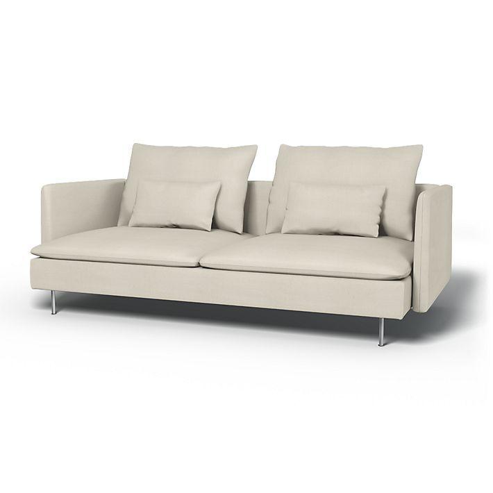 Soderhamn Sofa Covers 3 Seater Regular Fit Using The Fabric