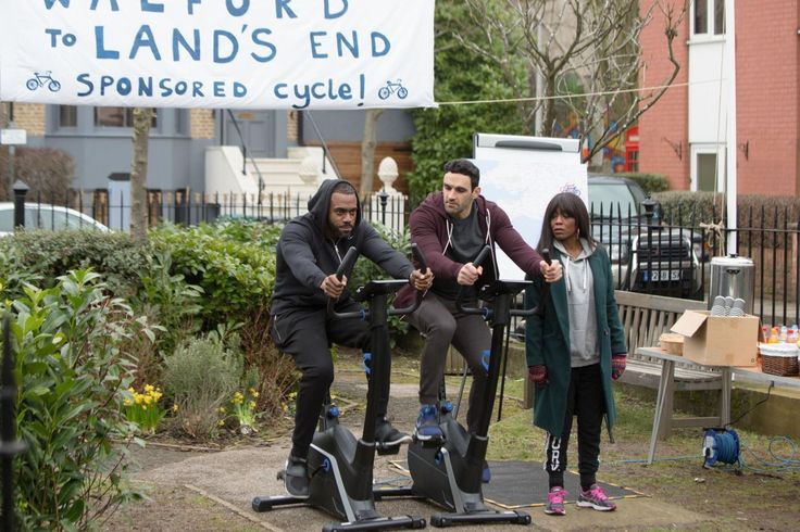 EastEnders' Denise and Kush have a HUGE fight on their hands with Carmel this week  - DigitalSpy.com