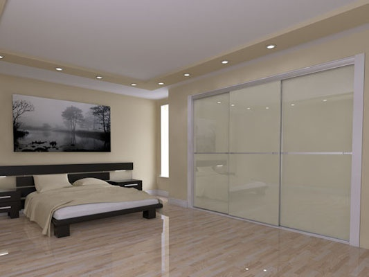 Good Sliding wardrobe minim Fitted bedrooms from Sheraton Interiors
