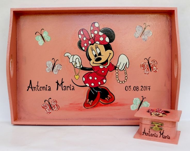 """Set+pentru+moț+""""Hello+Minnie!"""""""