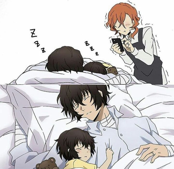 One Dazai is enough... two is just... ugh... *dies of cuteness overload*