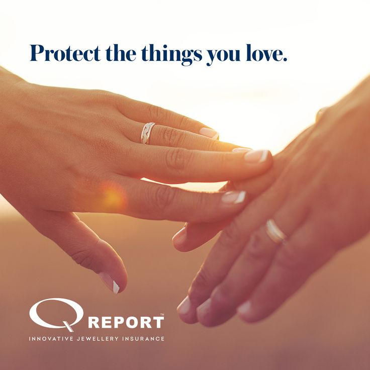 Protect the things you love with Q Report Jewellery Insurance #jewelleryinsurance #qreport #engagementrings #Australia