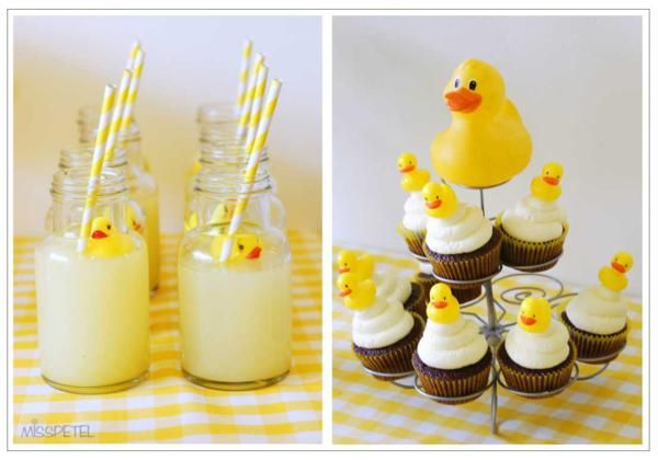 Love this YELLOW DUCKY BIRTHDAY PARTY! It would make a great baby shower theme too! Found via www.KarasPartyIdeas.com